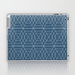 blue hex Laptop & iPad Skin