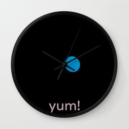 yum! egg Wall Clock