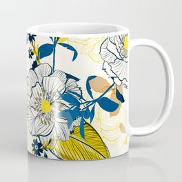 Flowers patten1 Coffee Mug