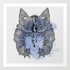 Wolfee Art Print