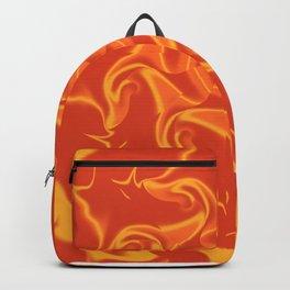 Red Orange and Yellow Kaleidoscope 3 Backpack