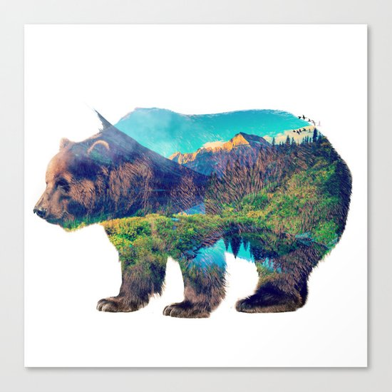 Nature Giant Canvas Print