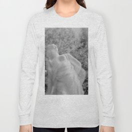 film photograph taken with crown graphic 4x5 camera Long Sleeve T-shirt