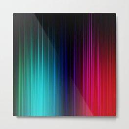 Impulse,colorful Metal Print