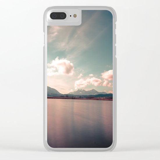 Nature Blossom Clear iPhone Case