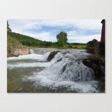 dillard mill 2016 V Canvas Print