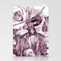 3d Stationery Cards featuring 3D by dogooder