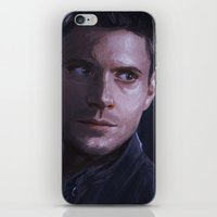 winchester iPhone & iPod Skins featuring Dean Winchester by JazzySatinDoll