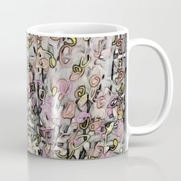 Effervescent Kinky Leaves Coffee Mug