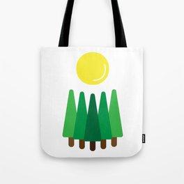 Pines Sunrise Tote Bag