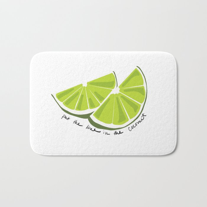 Lime in the Coconut Bath Mat