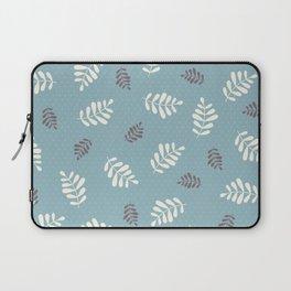 Falling Leaves – Blue Laptop Sleeve