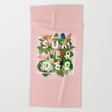 SUMMER of 82 Beach Towel