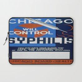 Vintage poster - Syphilis Laptop Sleeve