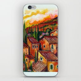 Tuscan Roofs iPhone Skin