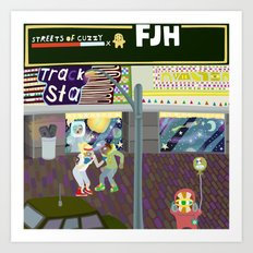 FJH ✮ Streets of Cuzzy EP Art Print