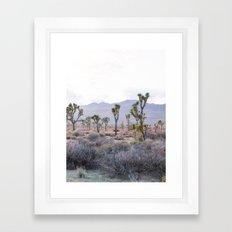 Joshua Tree Diptych [Right Side] Framed Art Print