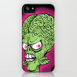 Pop Martian iPhone Case