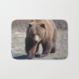 Alaskan Grizzly Bear - Spring Bath Mat