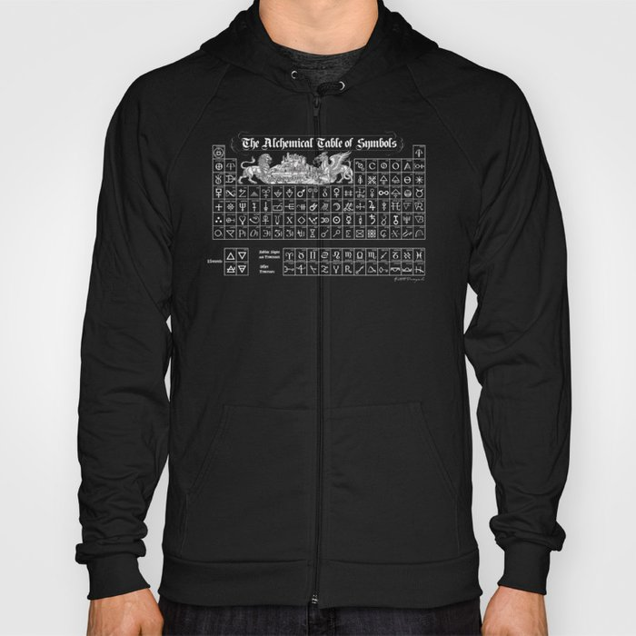 The Alchemical Table of Symbols Hoody