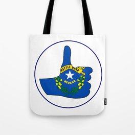 Thumbs Up Nevada Tote Bag