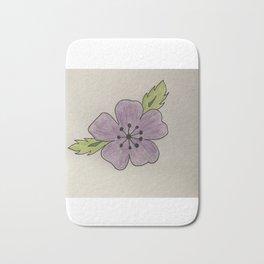 Een bloem voor myn bloem Bath Mat