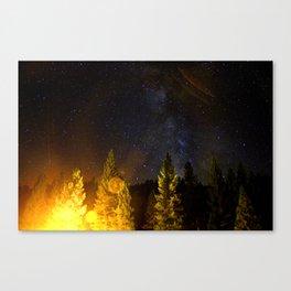 Star Flare Canvas Print
