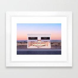 Marfa Horizontal Framed Art Print