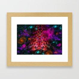 Intergalactic Hive Mind II Framed Art Print