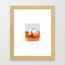 Cocktail Hour: Whiskey Framed Art Print