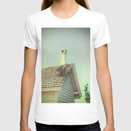 Summer cottage gable roof T-shirt