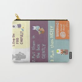 instructional safety poster Carry-All Pouch