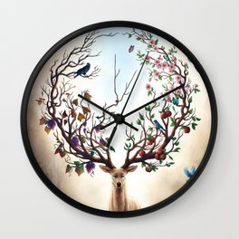Seasons Change Wall Clock