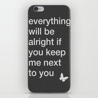 "lyrics iPhone & iPod Skins featuring ""22"" Lyrics by TayCee"