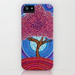 The Sakura Tree iPhone Case