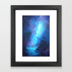 Expanding Onwards Framed Art Print