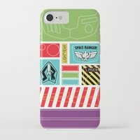 buzz lightyear iPhone & iPod Cases featuring TOY STORY : BUZZ LIGHTYEAR STICKERS KIT by DrakenStuff+