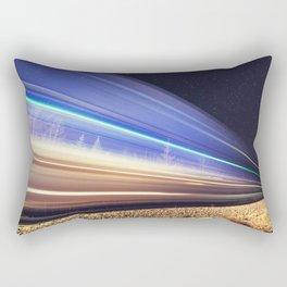 Rails Northward Rectangular Pillow