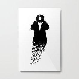 Musicman Metal Print
