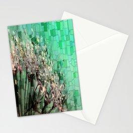 Fresh Dandelions Mosaic Stationery Cards