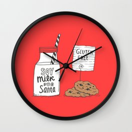 Gluten free Christmas Wall Clock