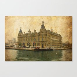 Haydarpasa Railway Station Canvas Print