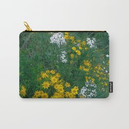 Flowers On the Edge Carry-All Pouch