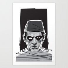 Imhotep Art Print