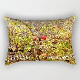 Urban Pomegranate Tree Rectangular Pillow