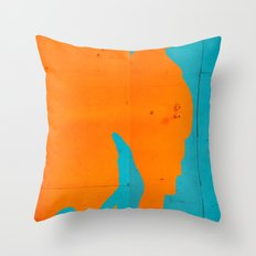 Husband and Wife Throw Pillow