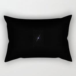 Jupiter from a Telescope Rectangular Pillow