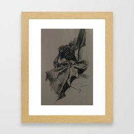 fabric study 2012 Framed Art Print