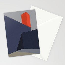 Minimal Urban Landscape Stationery Cards