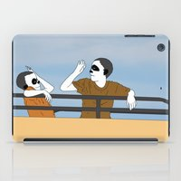 onward iPad Cases featuring The Highest Five by Baby Nightsoil
